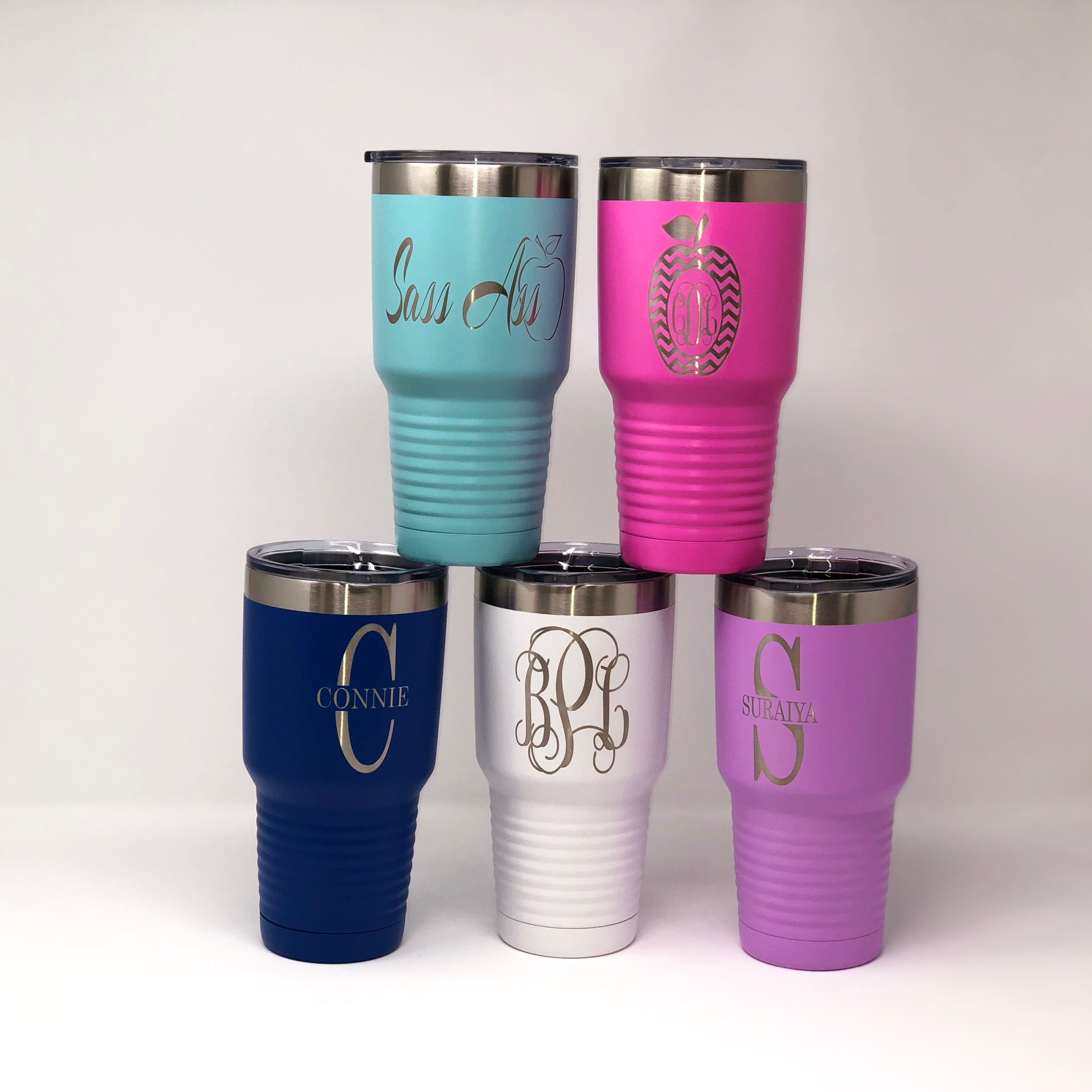 ENGRAVED INSULATED TUMBLERS