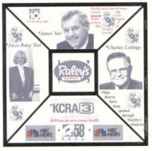 Click on this picture and listen to Raley's spokeswoman Beverly Hardesty publicly state (back in 1992) that Charles Nordby only worked for Raley's  in 1974 for a year and also that Charles Nordby is a liar concerning his book.