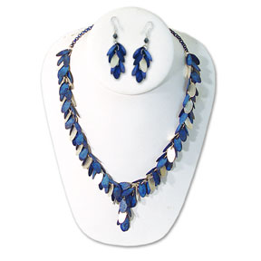 1134 - Hand painted necklace sets