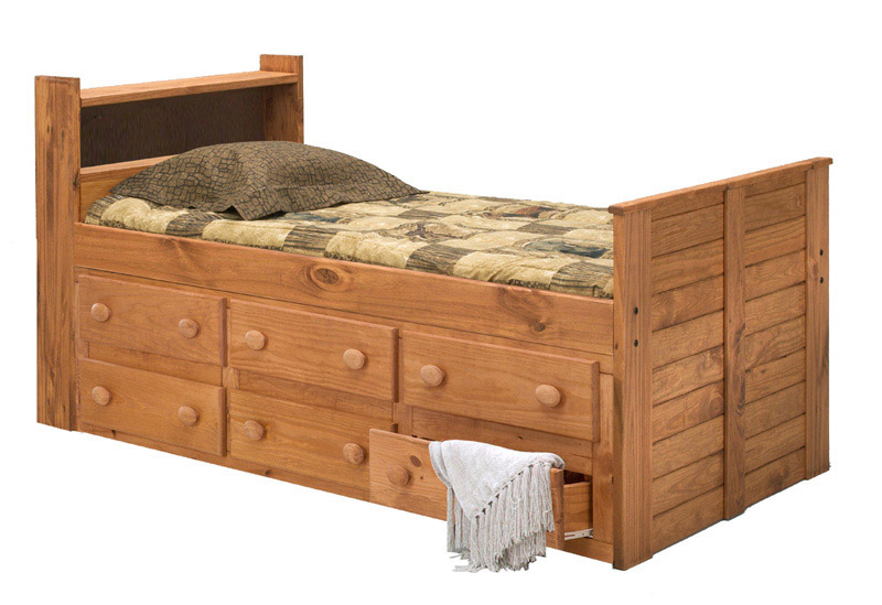 Pine crafter american made quality furniture captain beds for American made beds