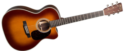 Martin OMC-28E Ambertone with LR Baggs Anthem