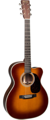 Martin OMC-28E Ambertone with Fishman Aura VT Enhance