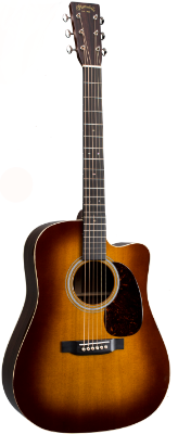 Martin HDC-28E Ambertone with Fishman Aura VT Enhance