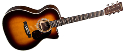 Martin OMC-28E Sunburst with LR Baggs Anthem