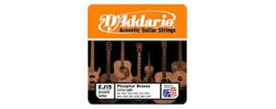 D'Addario EJ15 Extra Light Strings