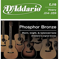 D'Addario EJ18 Heavy Strings