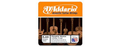 D'Addario EJ41 Extra Light Strings
