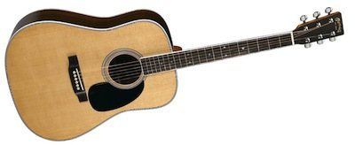 Martin D-35E with Fishman Aura VT Enhance