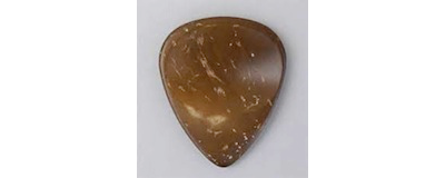 John Pearse Coconut Shell Dimple Pick