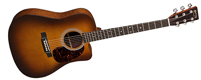 Martin DC-18E Ambertone with Fishman Aura VT Enhance