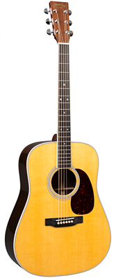Martin D-35E with Fishman Aura VT Enhance 2018