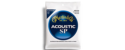 Martin MSP4250 SP Phosphor Bronze Bluegrass Acoustic Strings