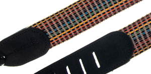 Martin Woven Strap with Black Leather Ends