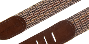 Martin Woven Strap with Brown Leather Ends