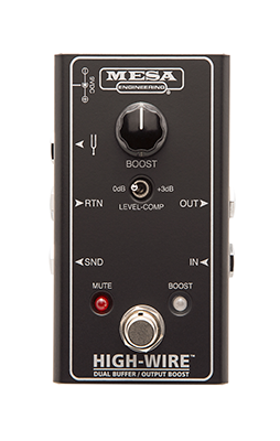 Mesa Boogie High-Wire Dual Input Buffer and Boost