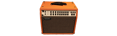 Mesa Boogie Rosette 300 Watt 1x10 Acoustic Combo Amp - Orange Bronco with Gold Jute Grill