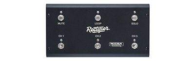 Mesa Boogie Dual Rectifier - 3 CH. Multi-Watt Footswitch