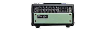 Mesa Boogie Mark Five 25 Head - Black with Surf Green Front Panel
