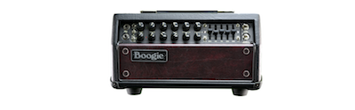 Mesa Boogie Mark Five 25 Head - Black with Wine Front Panel