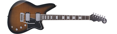 Reverend Bayonet RAHC - Gloss Coffee Burst Flame Maple
