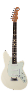 Reverend Six Gun - Cream with Roasted Neck