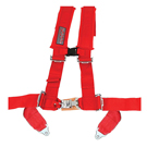 Red Four Point Harness Slasher