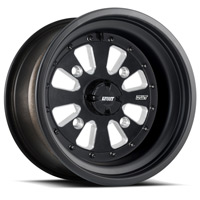 DWT Sector El Arco Black Rolled Lip Wheels