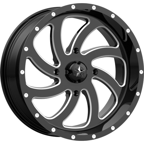 MSA M36 Switch Milled Wheels