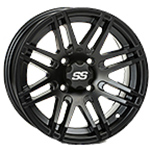 ITP SS316 Black Ops ATV Wheels SS 316 Free Shipping