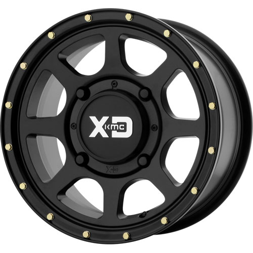 KMC XS134 Addict 2 Black Wheel