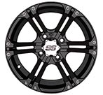 ITP SS212 Black Alloy Wheel