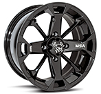 MotoSport Black Elixir Wheel