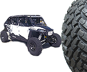 EFX MotoHammer Tire Wheel Package