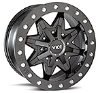 MSA Black M16 Vice Beadlock Wheels