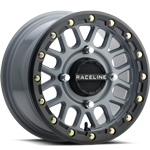 Raceline A93B Podium Grey Beadlock Wheel