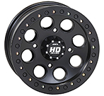 STI HD Black Beadlock ATV Wheels