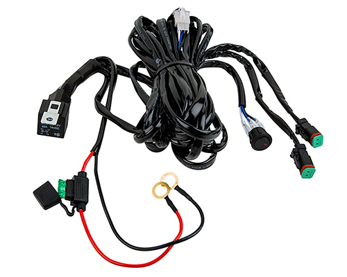 two light wire harness 16 ga totron 6 u0026quot  12 u0026quot  20 u0026quot