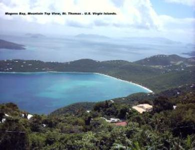 A view og Magens Bay Fron Mountain top. Call for size and amount.