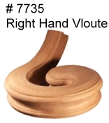 # 7735 Flat Volute Right Hand