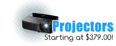 Projectors from 379.00