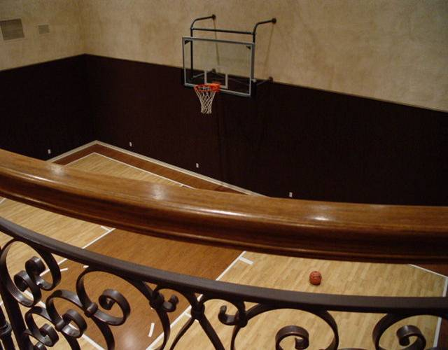 Pole barn dimensions for indoor basketball court for Indoor basketball court dimensions