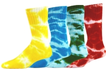 55dd1f8f79e Red Lion Tie-dye Crew Sock - Volleyball Corner