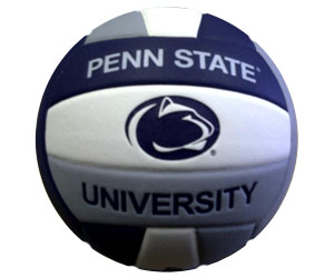 Volleyball Corner Penn State Logo Composite Volleyball