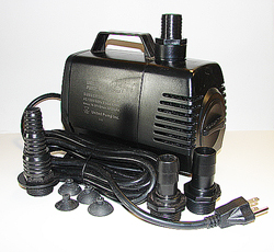 United UP-2160 inline and submersible fountain pump