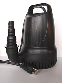 Fountain Pro JGP-900 upright submersible utility pump