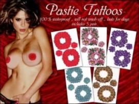 Naughty Temporary Tattoos