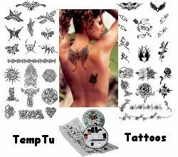 TempTu temporary tattoo kits
